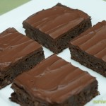 Vegan Chocolate Chewy Brownies