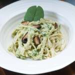 Brown Rice Pesto Pasta 6